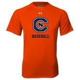 Under Armour Orange Tech Tee-Baseball