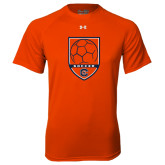 Under Armour Orange Tech Tee-Soccer Shield w/ Logo