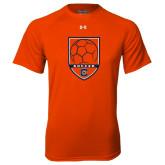 Under Armour Orange Tech Tee-Soccer Shield w/ Logo