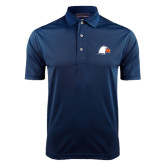 Navy Dry Mesh Polo-Eagle Head