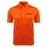 Orange Dry Mesh Polo-Arched Carson-Newman University