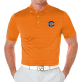 Callaway Opti Vent Orange Polo-Official Logo
