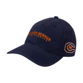 Navy OttoFlex Unstructured Low Profile Hat-Arched Carson-Newman University