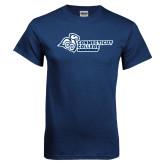 Navy T Shirt-Primary Mark Flat