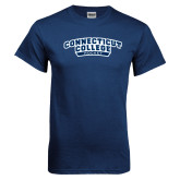 Navy T Shirt-Hockey