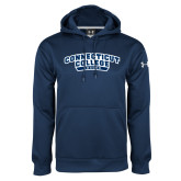 Under Armour Navy Performance Sweats Team Hoodie-Soccer
