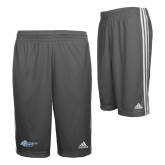 Adidas Climalite Charcoal Practice Short-Primary Mark Flat