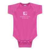 Fuchsia Infant Onesie-Institutional Mark