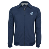 Navy Players Jacket-Camel with CC