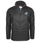 Columbia Mighty LITE Charcoal Jacket-Camel with CC