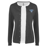 Ladies Charcoal Cardigan-Primary Mark