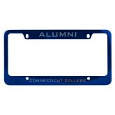 Alumni Metal Blue License Plate Frame-Alumni