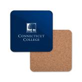 Hardboard Coaster w/Cork Backing-Institutional Mark