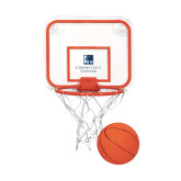 Mini Basketball & Hoop Set-Institutional Mark