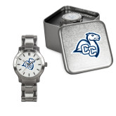 Ladies Stainless Steel Fashion Watch-Camel with CC