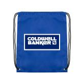 Royal Drawstring Backpack-Standard Logo