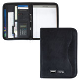 Insight Black Calculator Padfolio-Global Luxury