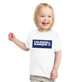Toddler White T Shirt-Standard Logo