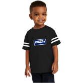 Toddler Black Jersey Tee-Standard Logo