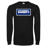 Black Long Sleeve T Shirt-Standard Logo