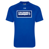Under Armour Royal Tech Tee-Standard Logo