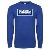 Royal Long Sleeve T Shirt-Standard Logo
