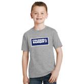 Youth Grey T Shirt-Standard Logo