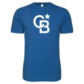Next Level SoftStyle Royal T Shirt-CB Mark