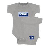Grey Infant Onesie-Standard Logo