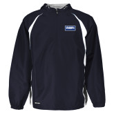Holloway Hurricane Navy/White Pullover-Standard Logo