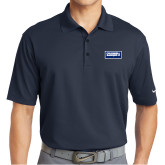 Nike Golf Dri Fit Navy Micro Pique Polo-Standard Logo