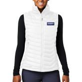 Columbia Lake 22 Ladies White Vest-Standard Logo