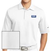 Nike Sphere Dry White Diamond Polo-Standard Logo