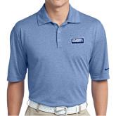 Nike Golf Dri Fit Royal Heather Polo-Standard Logo