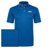 Callaway Magnetic Blue Jacquard Polo-Standard Logo
