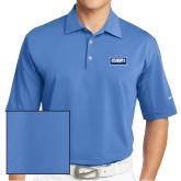 Nike Sphere Dry Light Blue Diamond Polo-Standard Logo