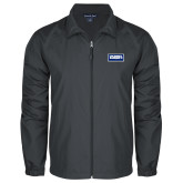 Full Zip Charcoal Wind Jacket-Standard Logo