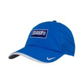 Nike Dri Fit Royal Perforated Hat-Standard Logo