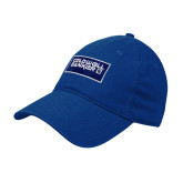 Royal Twill Unstructured Low Profile Hat-Standard Logo