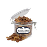 Deluxe Nut Medley Small Round Canister-Global Luxury