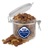 Deluxe Nut Medley Round Canister-Standard Logo