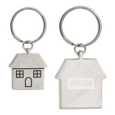 Silver House Key Holder-Standard Logo Engraved