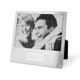 Silver 5 x 7 Photo Frame-Standard Logo Engraved