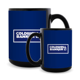 Full Color Black Mug 15oz-Standard Logo