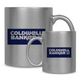 Full Color Silver Metallic Mug 11oz-Standard Logo