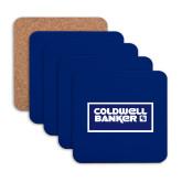Hardboard Coaster w/Cork Backing 4/set-Standard Logo