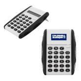 White Flip Cover Calculator-Standard Logo