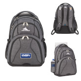 High Sierra Swerve Graphite Compu Backpack-Standard Logo