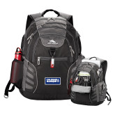 High Sierra Big Wig Black Compu Backpack-Standard Logo