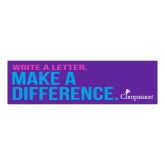Compassion International Bumper Sticker-Make a Difference